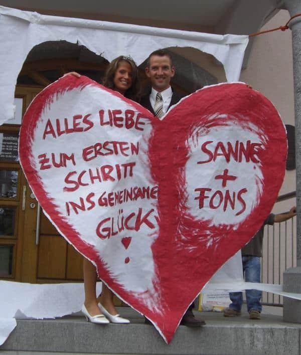 Hochzeit Fons und Susanne
