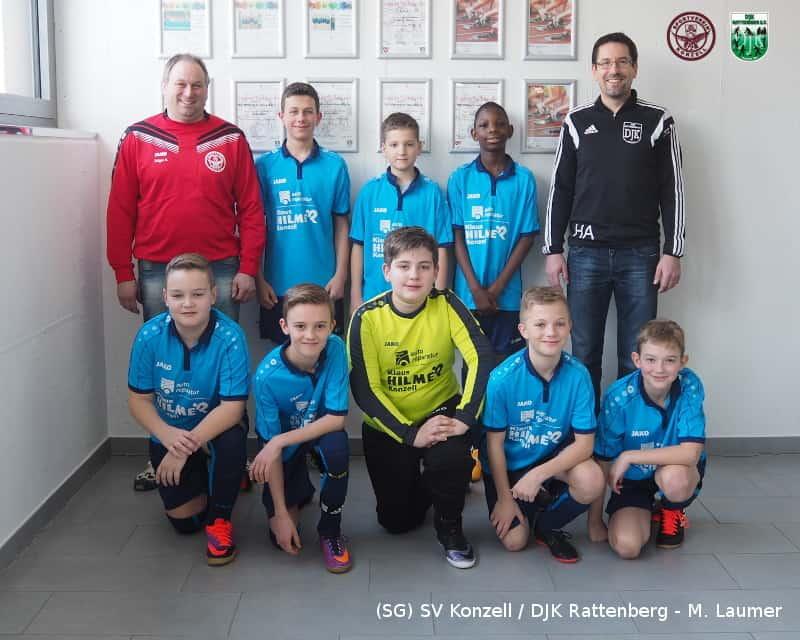 D-Junioren der SG SV Konzell / DJK Rattenberg beim 2. Aschinger Futsal-Cup 2017